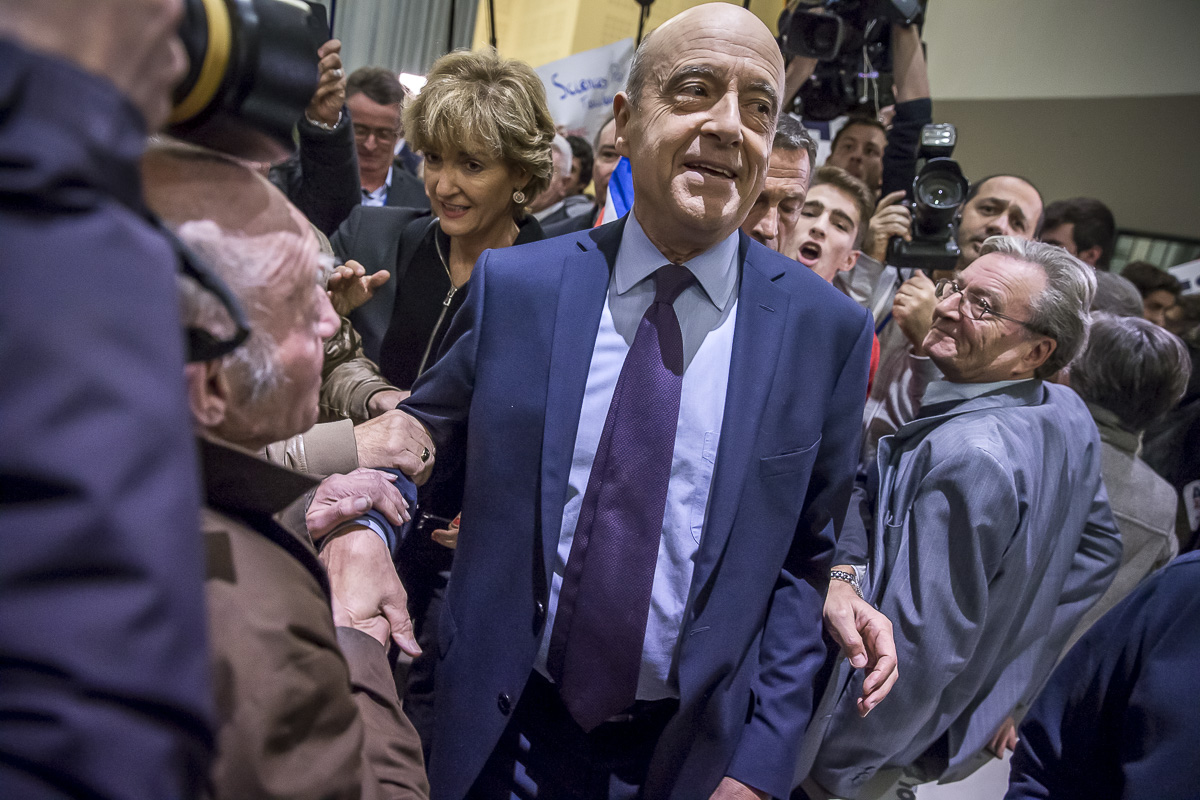 Alain Juppé à Toulouse, 22/11/2016
