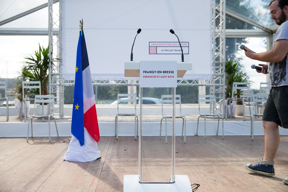 Arnaud Montebourg à Frangy, 21/08/2016