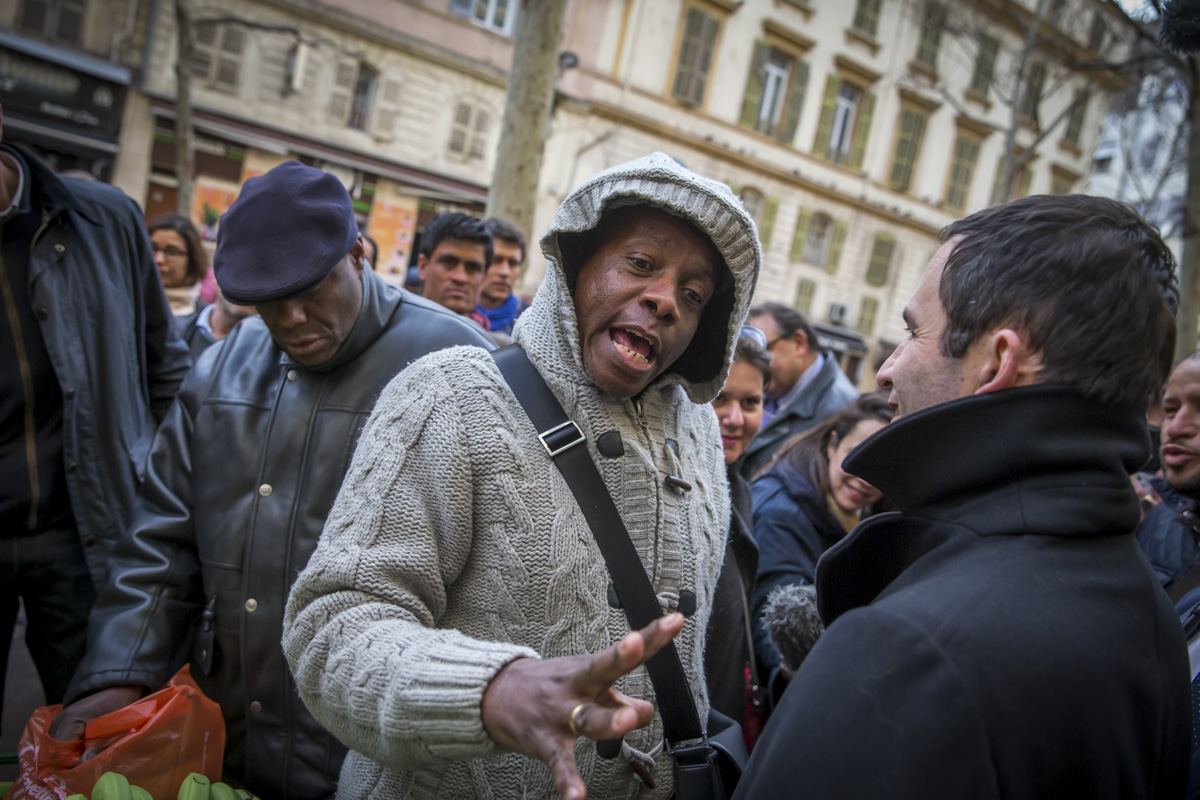 Benoît Hamon à Marseille, 7/03/2017
