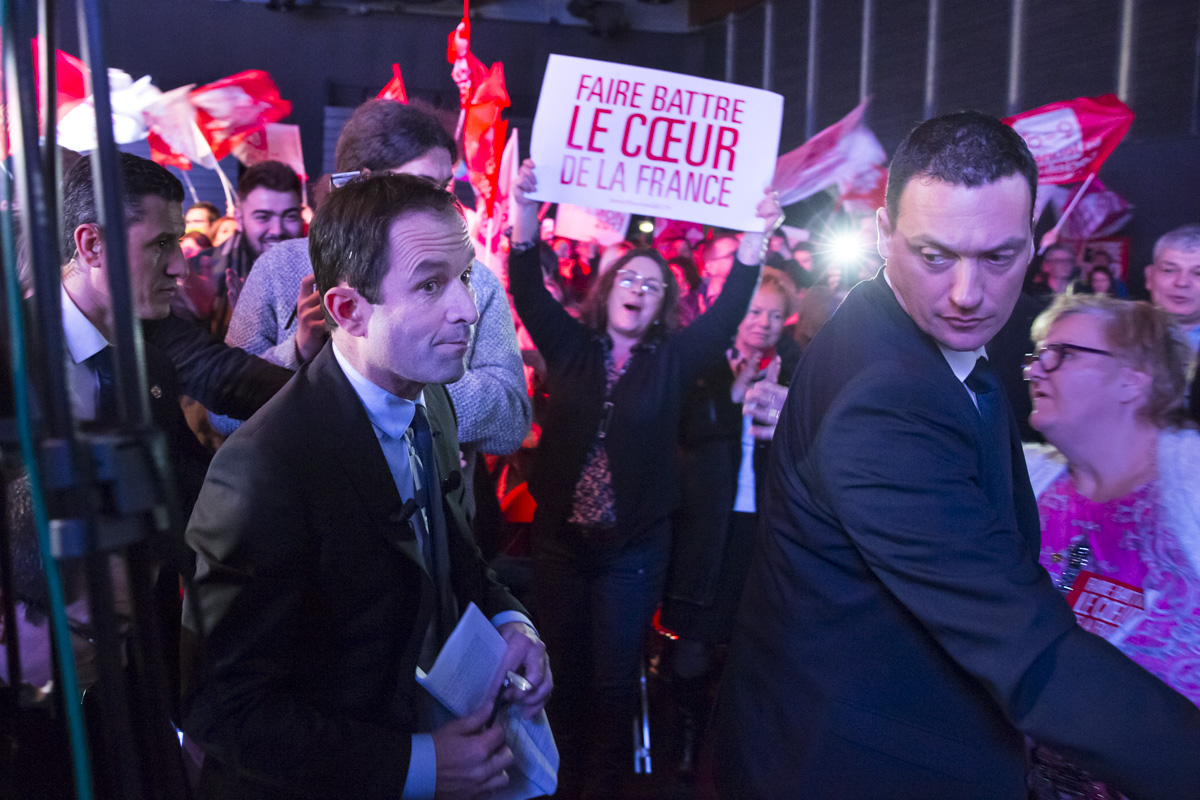 Benoît Hamon dans le Pas-de-Calais, 23/02/2017