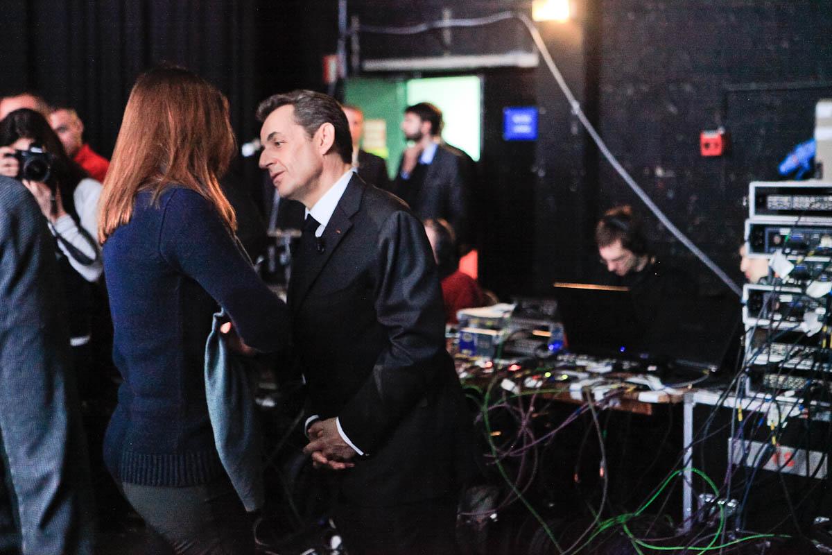 Carla et Nicolas Sarkozy, France 2, 6/03/2012