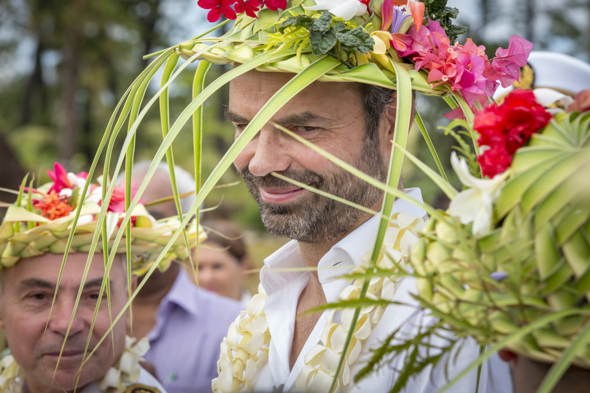 Édouard Philippe en Nouvelle-Calédonie, du 2 au 5/12/2017