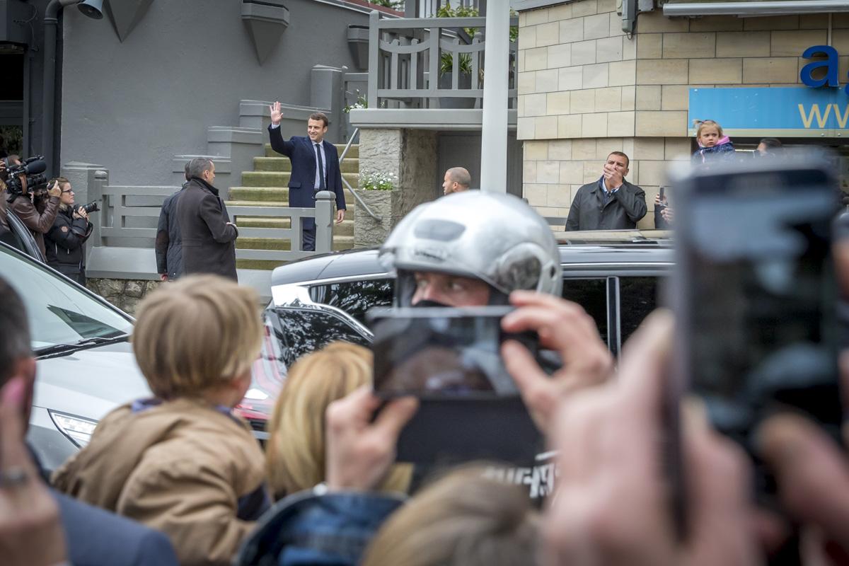 Emmanuel Macron, 1er tour de la présidentielle 2017, 23/04/2017