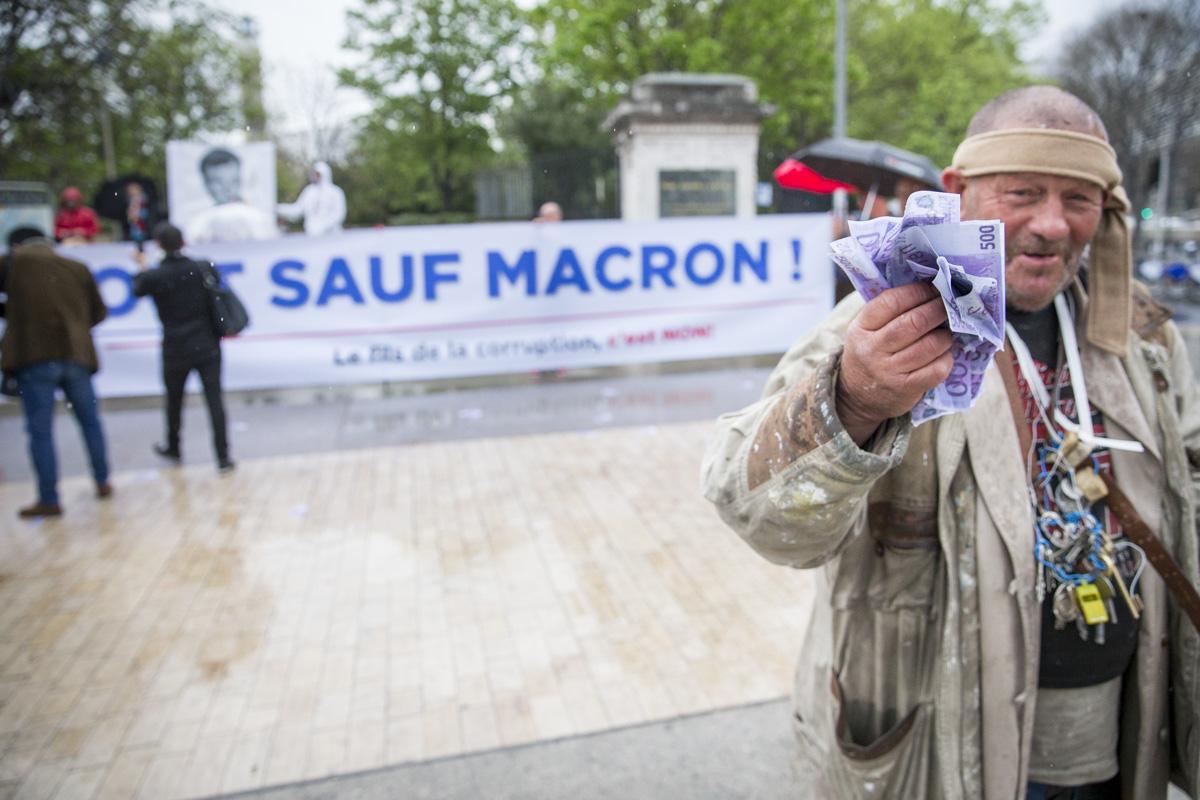 Emmanuel Macron à Marseille, 01/04/2017