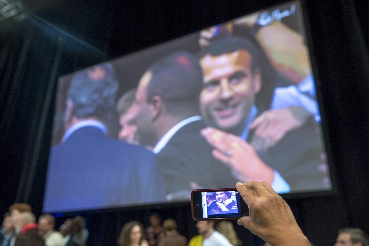 Emmanuel Macron à Montpellier, 18/10/2016