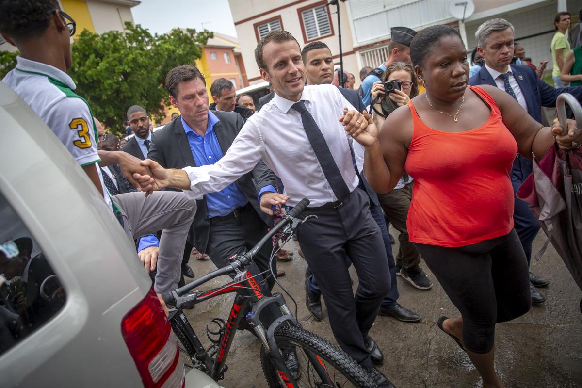 Emmanuel Macron aux Antilles, 27 au 30/09/2018