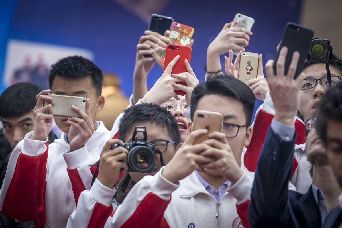 Emmanuel Macron en Chine, du 8 au 10/01/2018