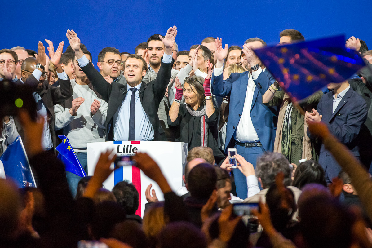 Emmanuel Macron à Lille, 14/01/2017