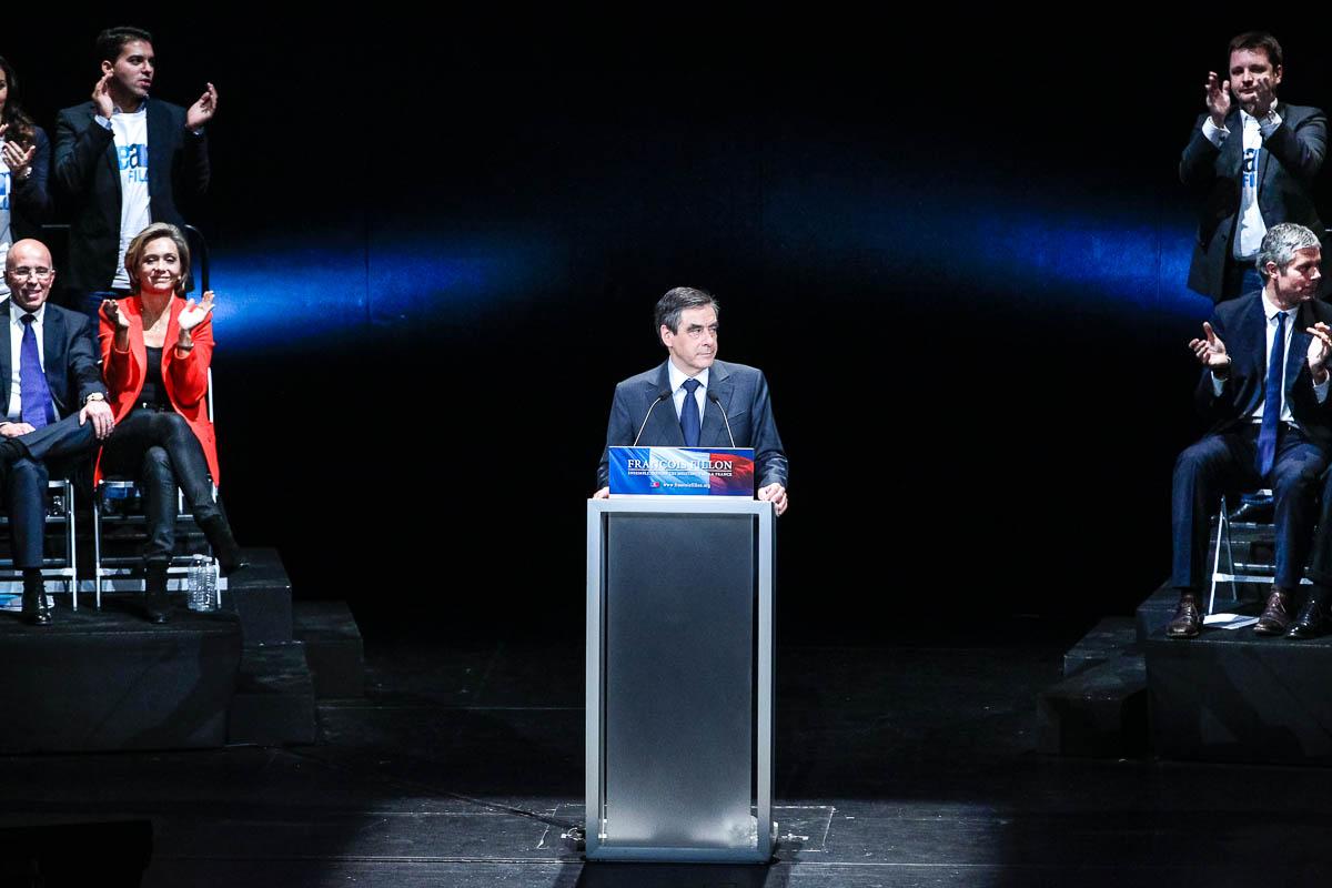 Fillon et Copé, les meetings parisiens, 12 et 16/11/2012