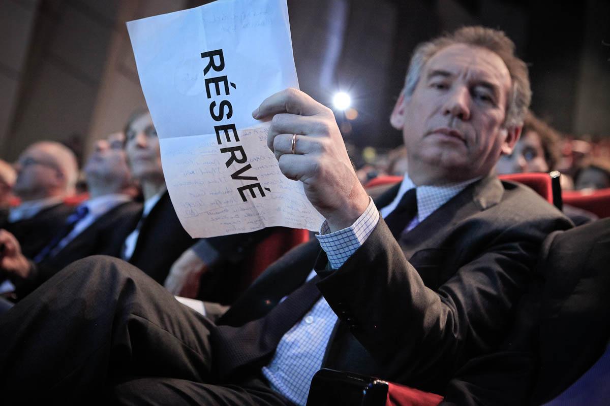 François Bayrou à Angers, 1/03/2012