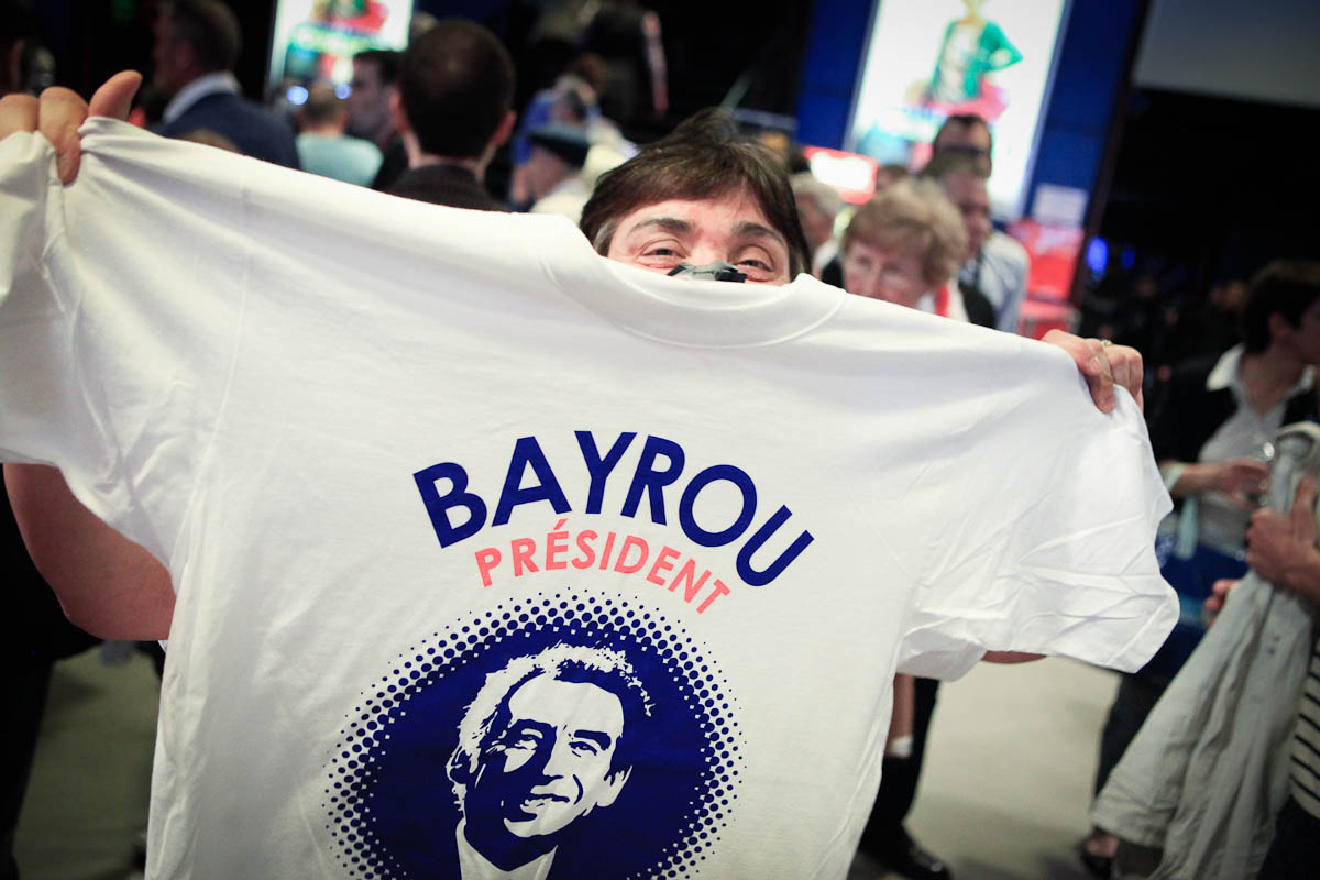 François Bayrou au Zénith de Paris, 25/03/2012