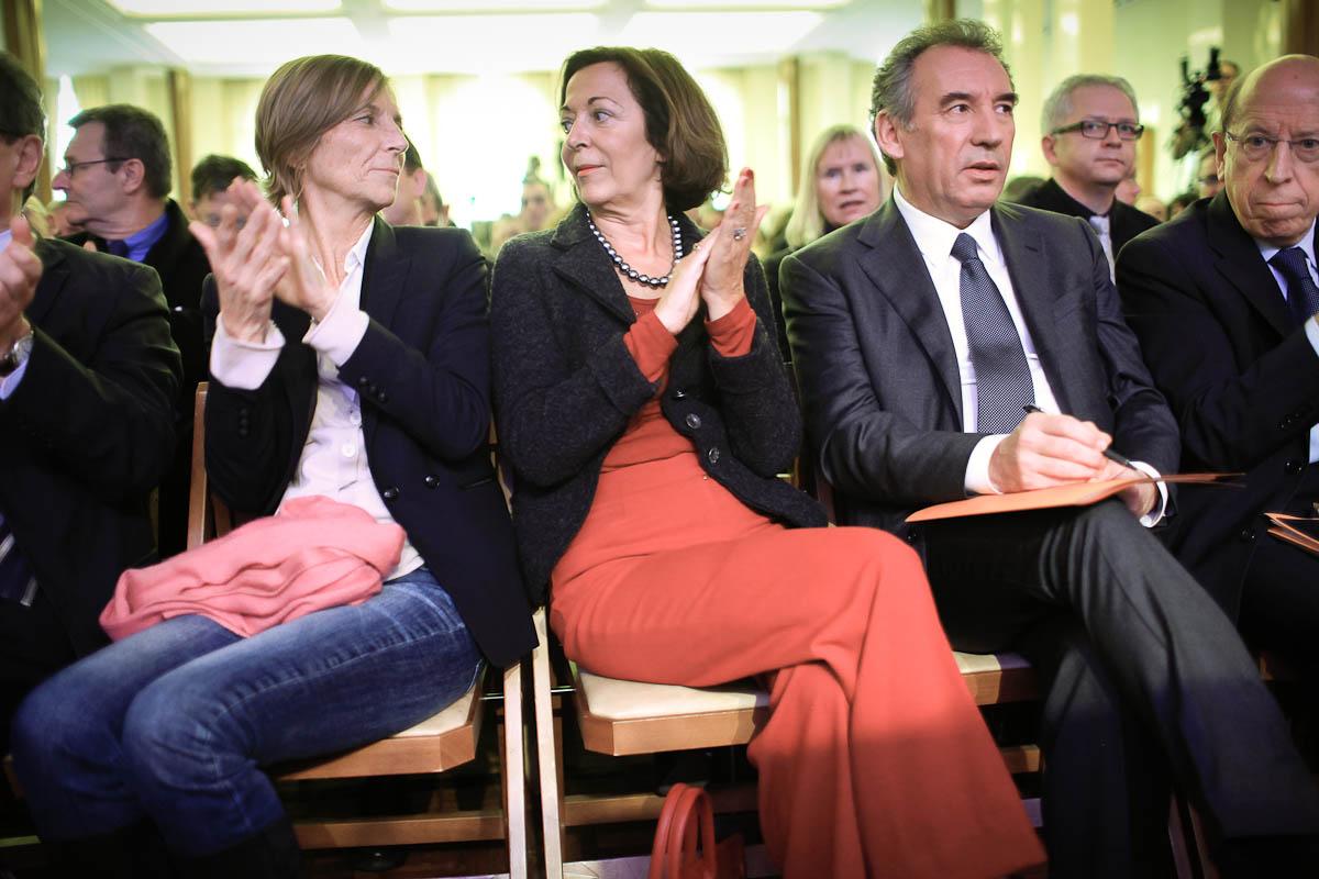François Bayrou, Paris, 14/01/2012