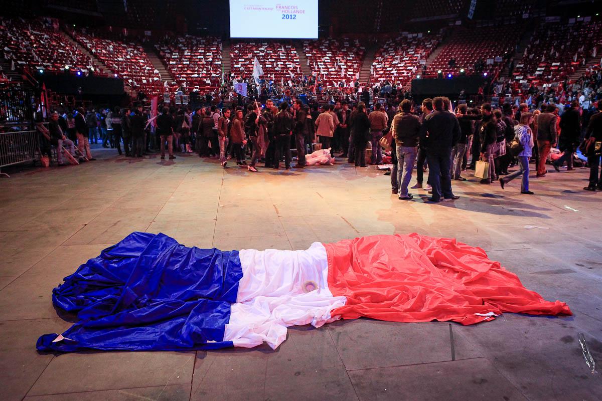 François Hollande à Bercy, 29/04/2012