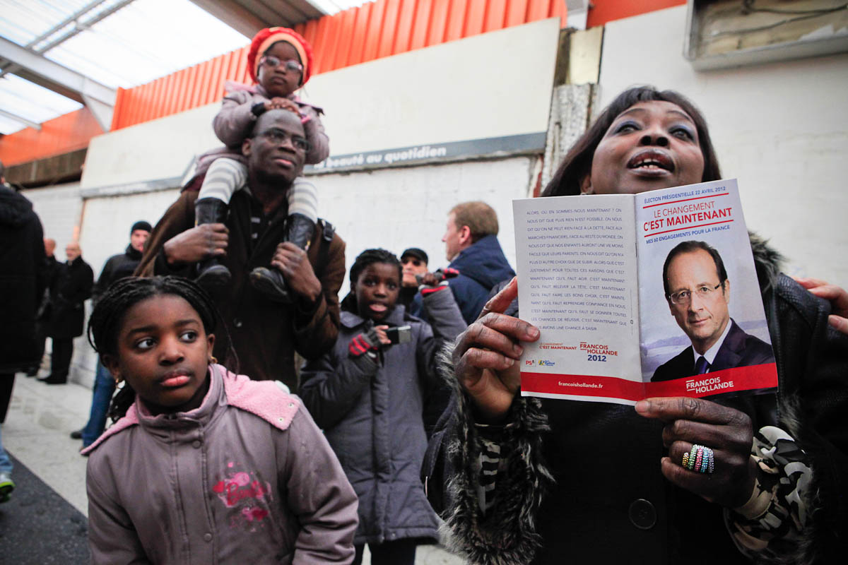 François Hollande à Bonneuil-sur-Marne, 20/02/2012