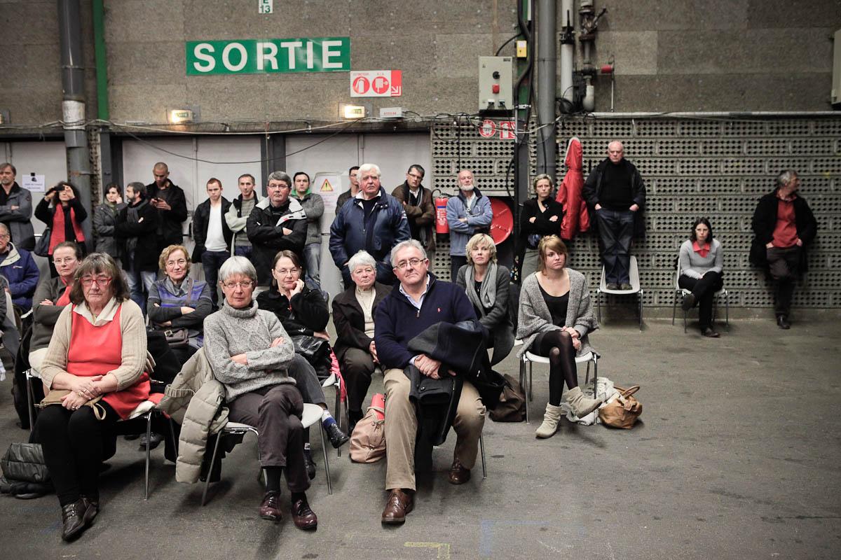 François Hollande à Brest, 30/01/2012