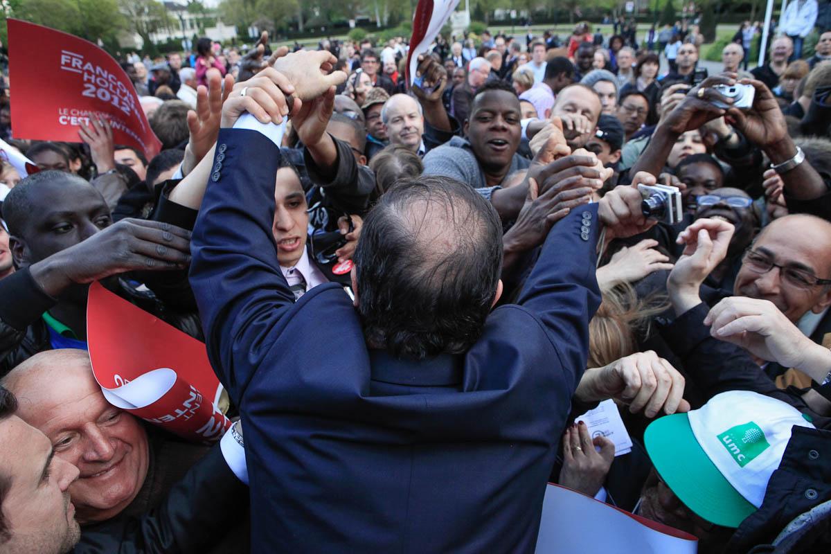 François Hollande à Clermont-Ferrand, Moulins, Auxerre et Chelles, 12 et 13/04/2012