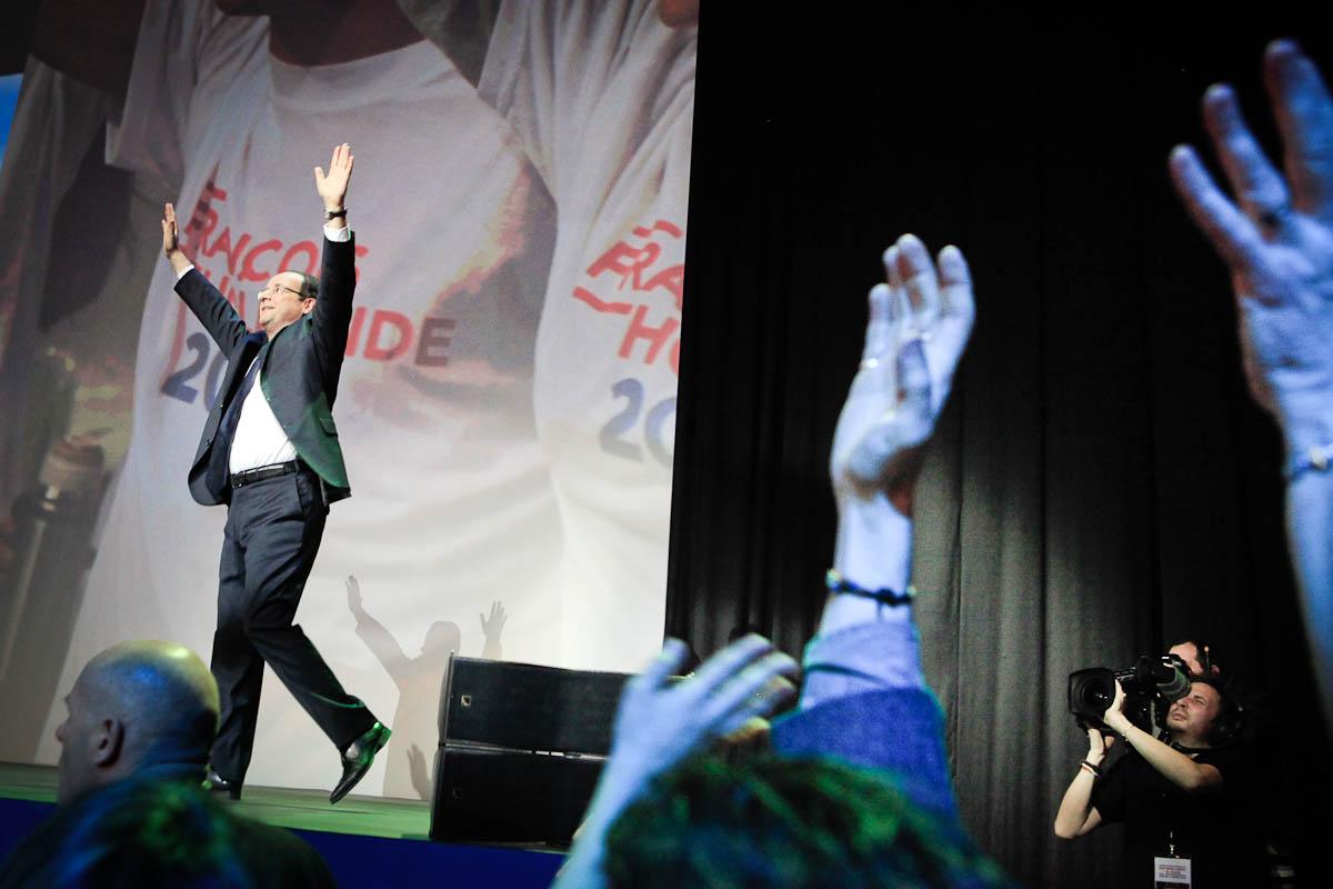 François Hollande à Dijon, 3/03/2012