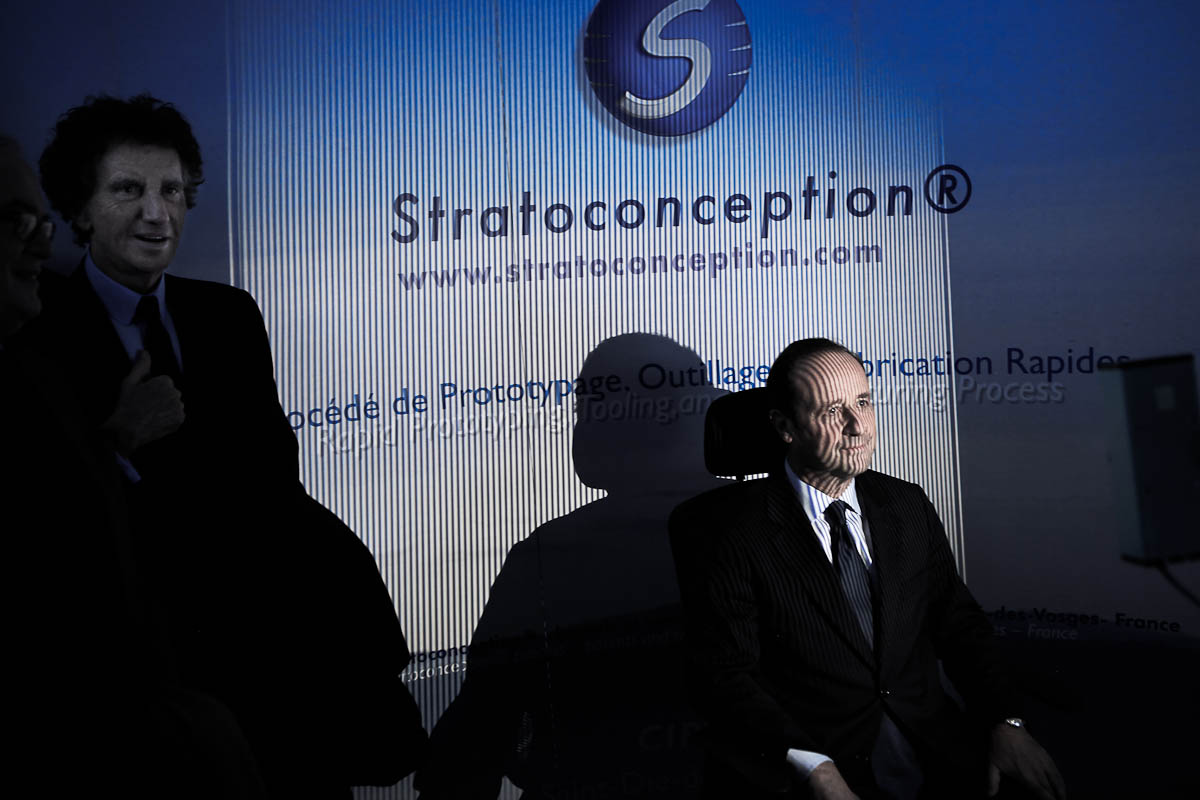 François Hollande en Lorraine, 5/03/2012