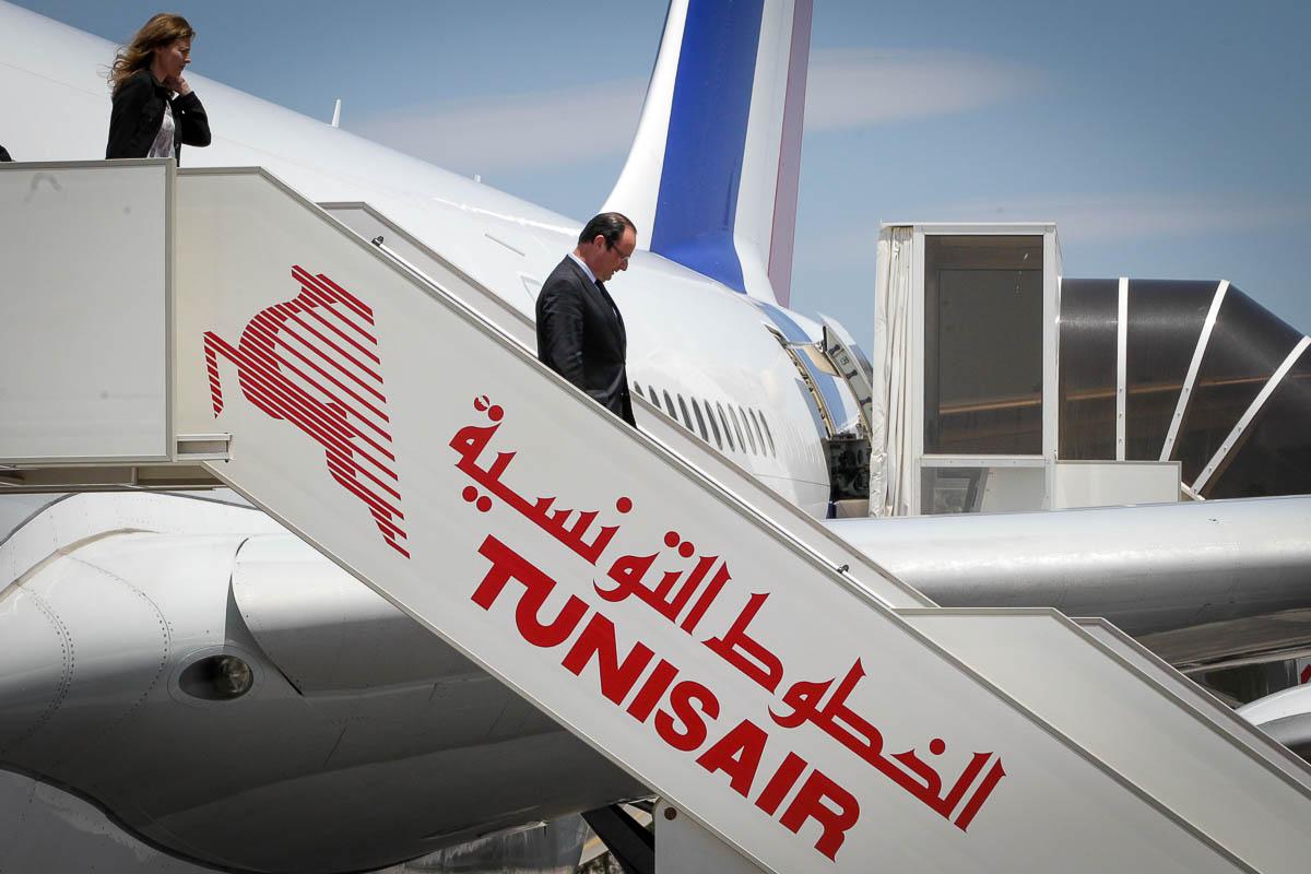 François Hollande en Tunisie, 4 et 5/07/2013