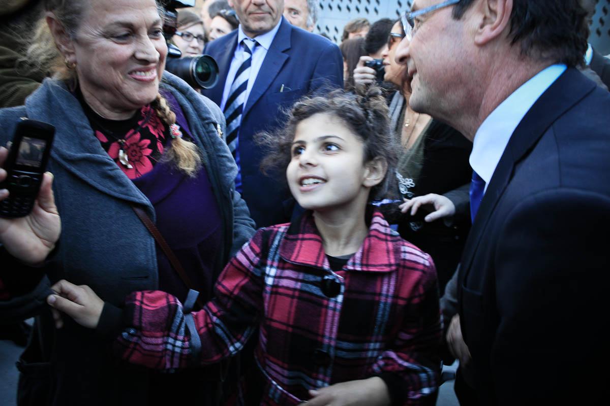 François Hollande, Hyères, Toulon, 24/01/2012