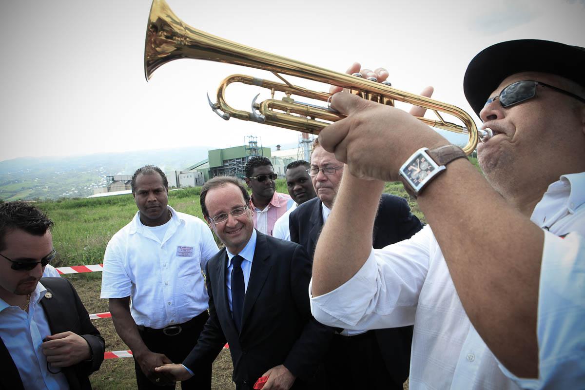 François Hollande à La Réunion, 31/03 et 1/04/2012