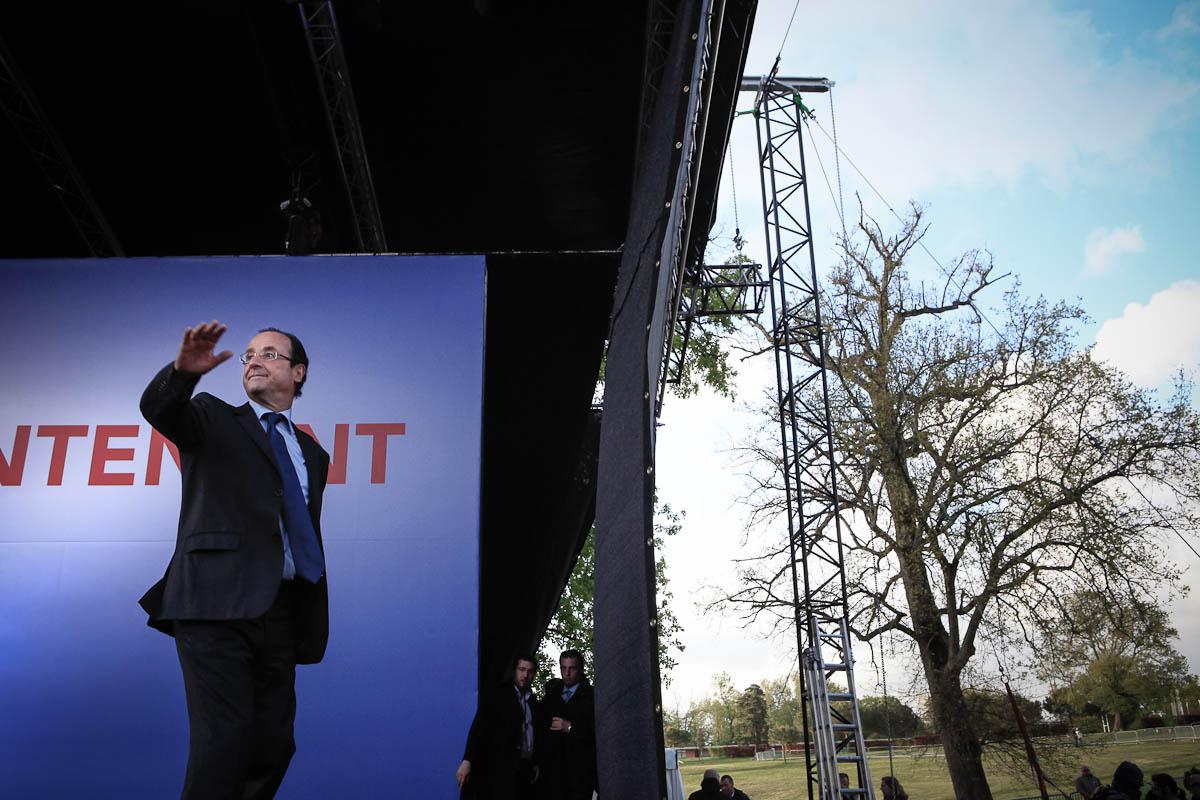 François Hollande à Lille et Bordeaux, 17 et 19/04/2012