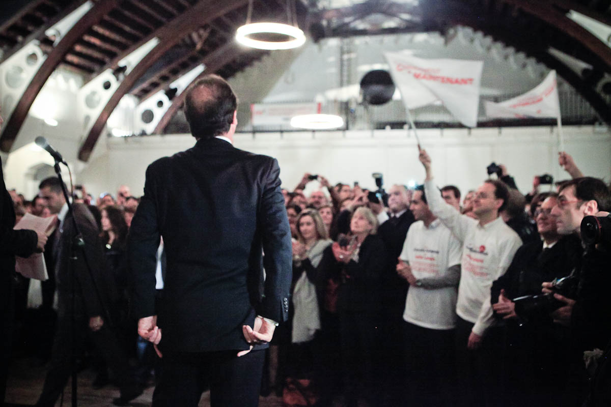 François Hollande à Londres, 29/02/2012
