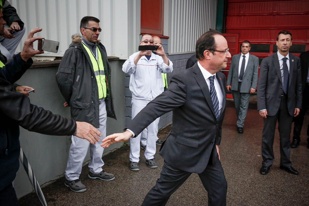 François Hollande à Rodez et Castres, 29 et 30/05/2013