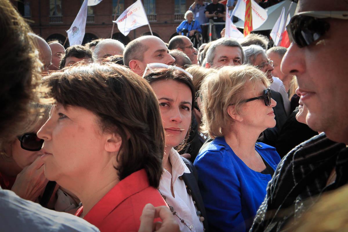 François Hollande à Toulouse et Périgueux, 3 et 4/05/2012