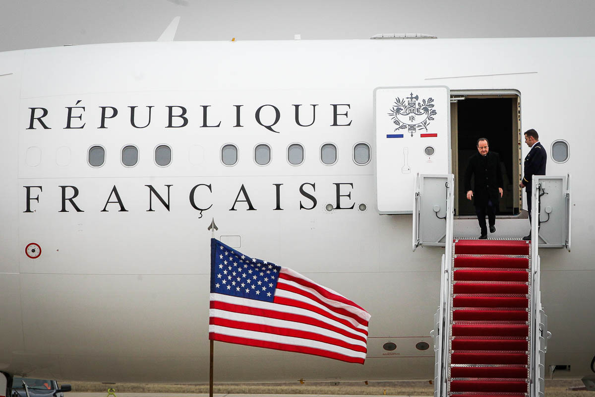 François Hollande à Washington D.C., 10 et 11/02/2014