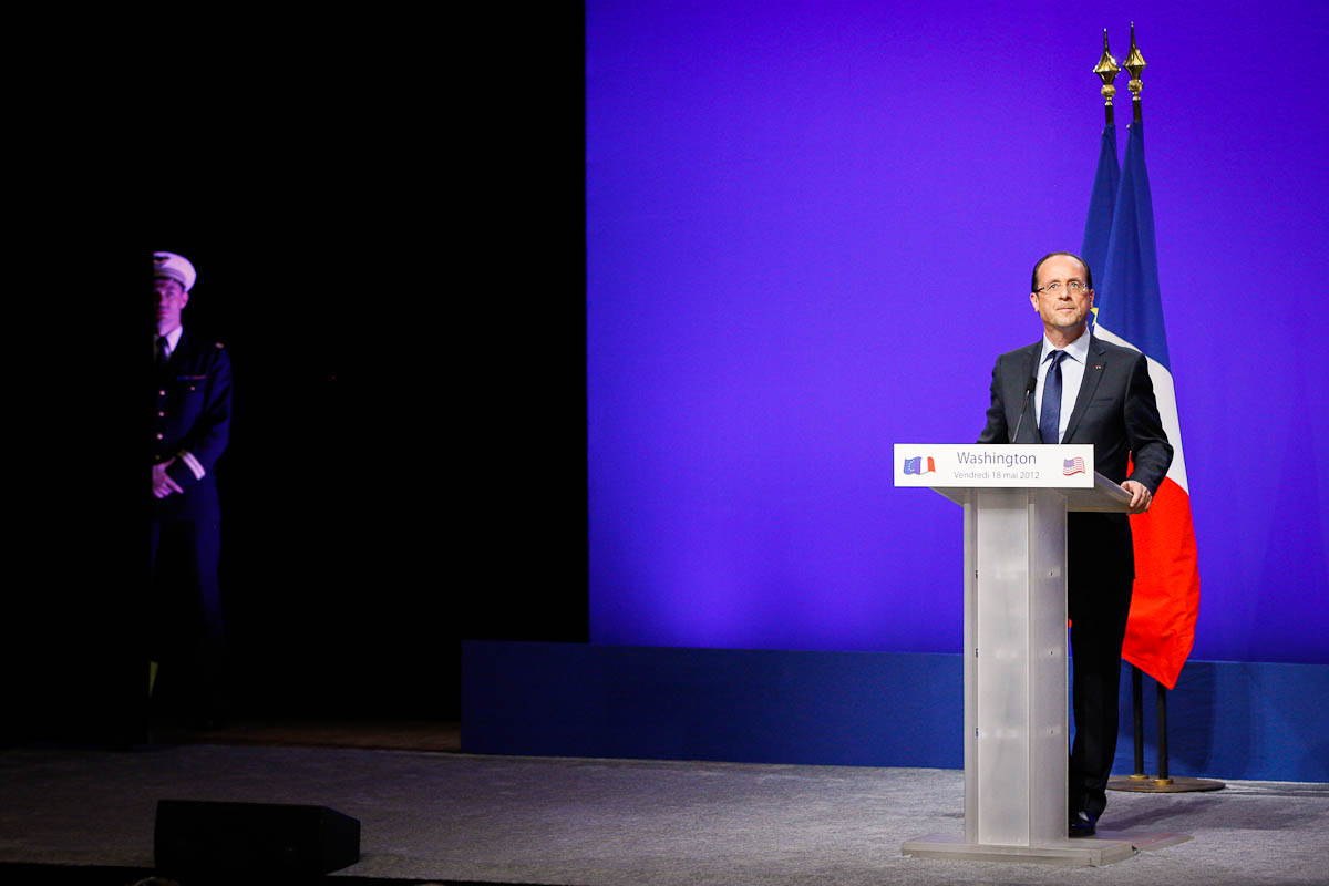 François Hollande à Washington et Chicago, du 18 au 21/05/2012