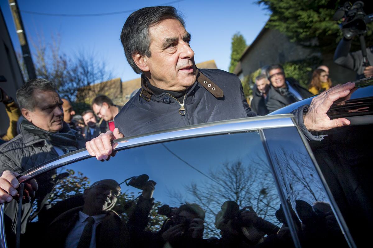 François Fillon dans la Sarthe, 01/12/2016