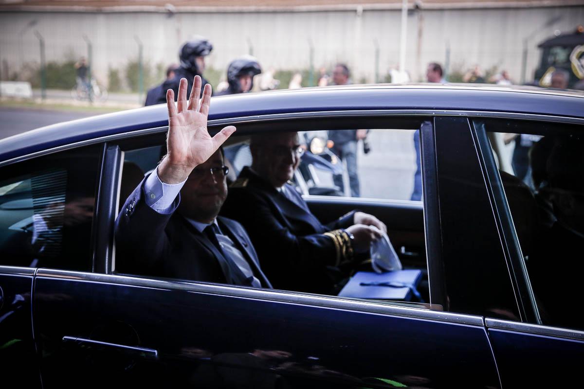 François Hollande à Florange et Pompey, 26/09/2013