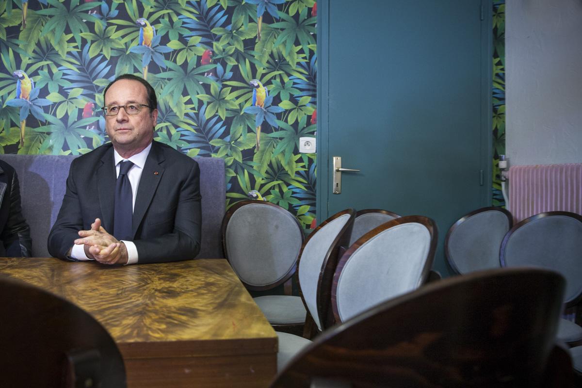 François Hollande à Rennes, 16/02/2017