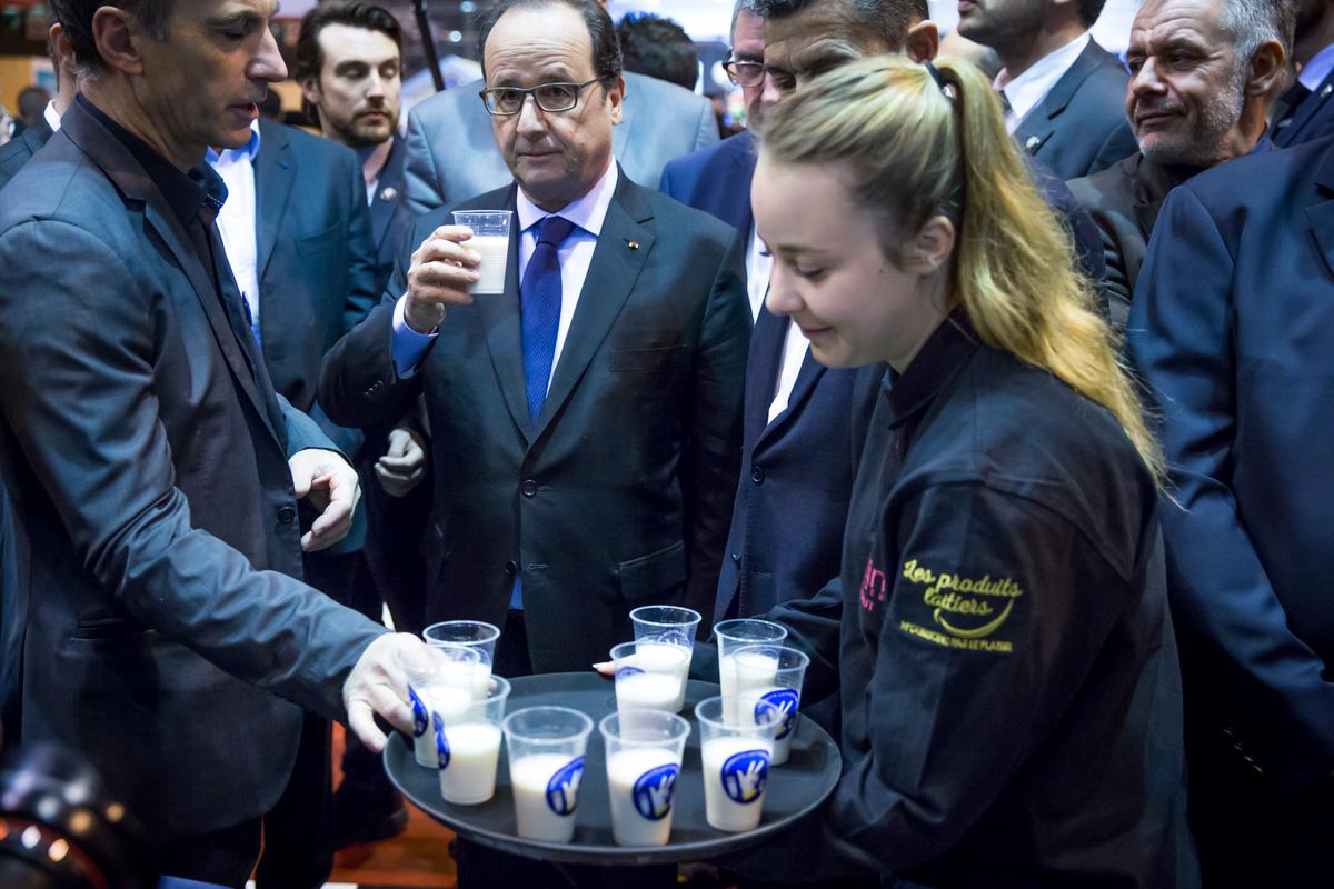 Fran ois hollande au salon de l 39 agriculture paris 27 02 for Hollande salon agriculture