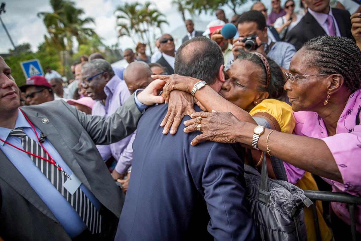 François Hollande dans les Caraïbes, 7 au 13/05/2015