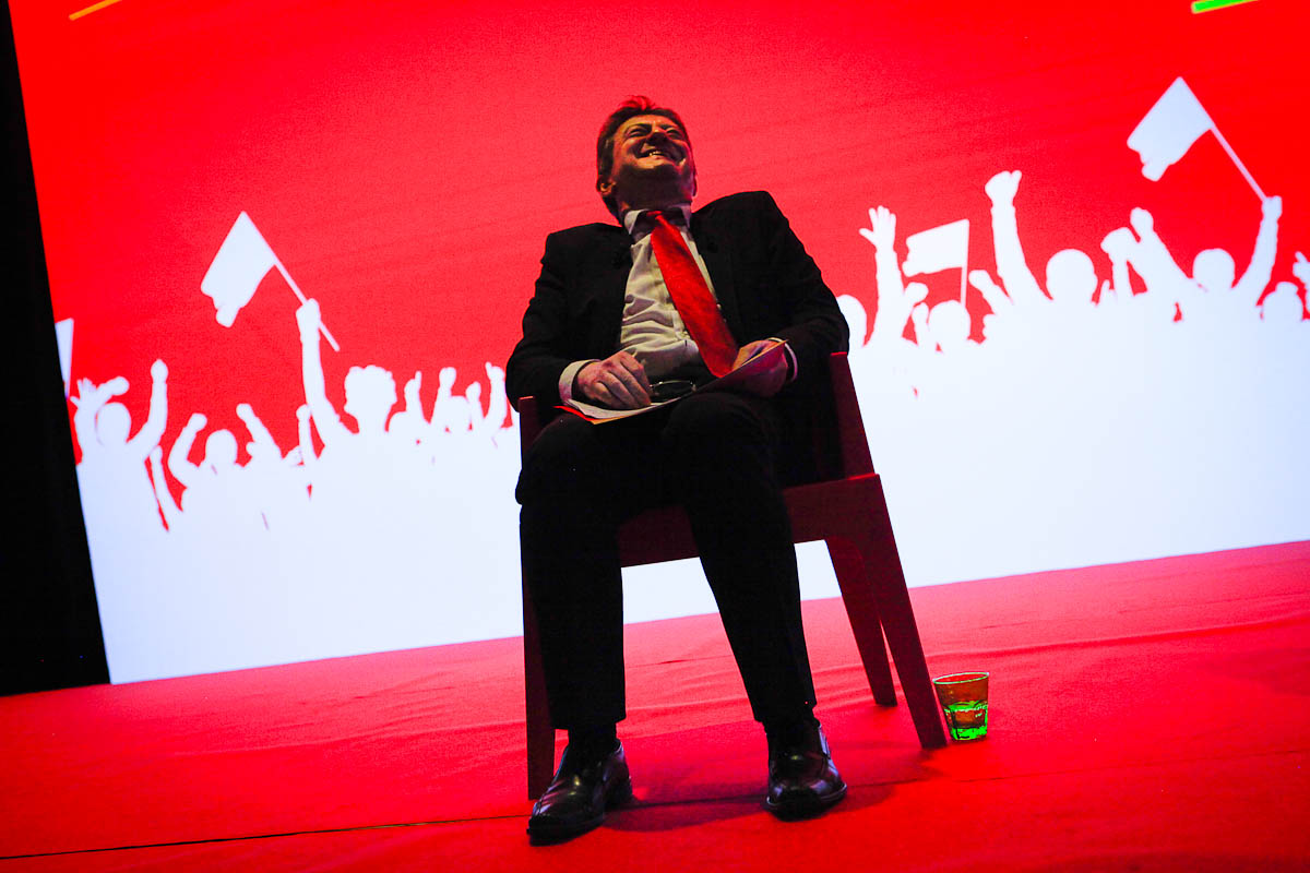 Jean-Luc Mélenchon à Lille, 28/03/2012