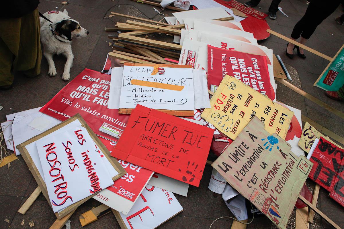 Jean-Luc Mélenchon à Toulouse, 5/04/2012