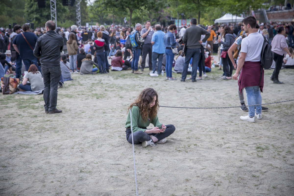 Jean-Luc Mélenchon à Toulouse, 16/04/2017