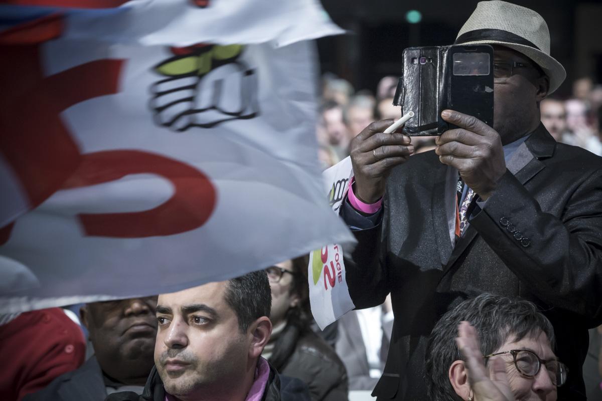 La Belle Alliance Populaire, Paris, 03/12/2016