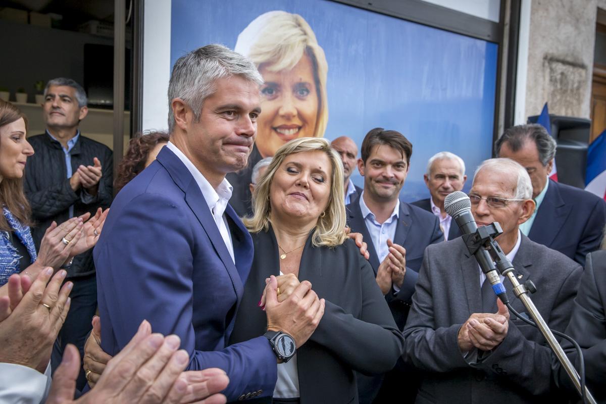 Laurent Wauquiez sur la Côte d'Azur, 25 et 26/10/2017