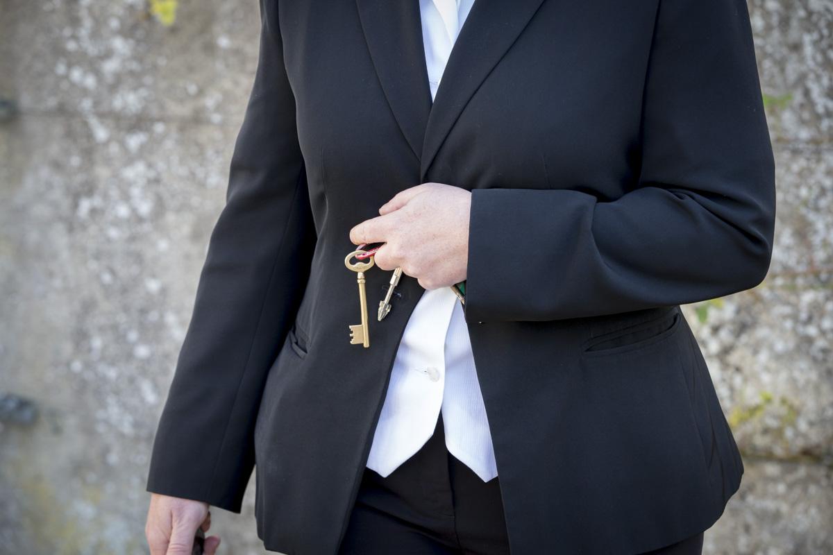 Le Premier ministre, Manuel Valls, visite le Centre de prévention, d\'insertion et de citoyenneté (CPIC) d'Indre-et-Loire, centre de déradicalisation pour prendre en charge des jeunes radicalisés ou en voie de radicalisation, non engagés dans des actions violentes. À Beaumont-en-Véron, samedi 22 octobre 2016 - 2016©Jean-Claude Coutausse / french-politics pour Le Monde