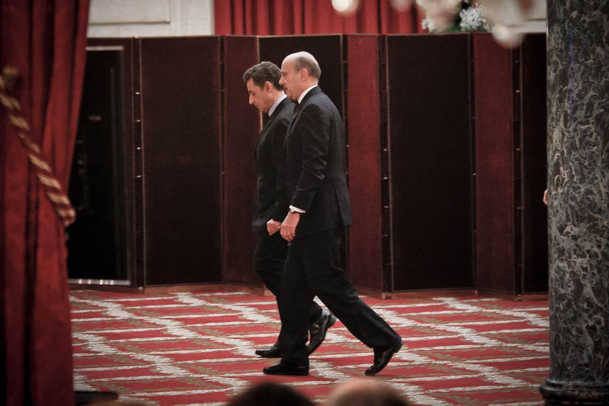 Nicolas Sarkozy, Elysée, Paris, 20/01/2012