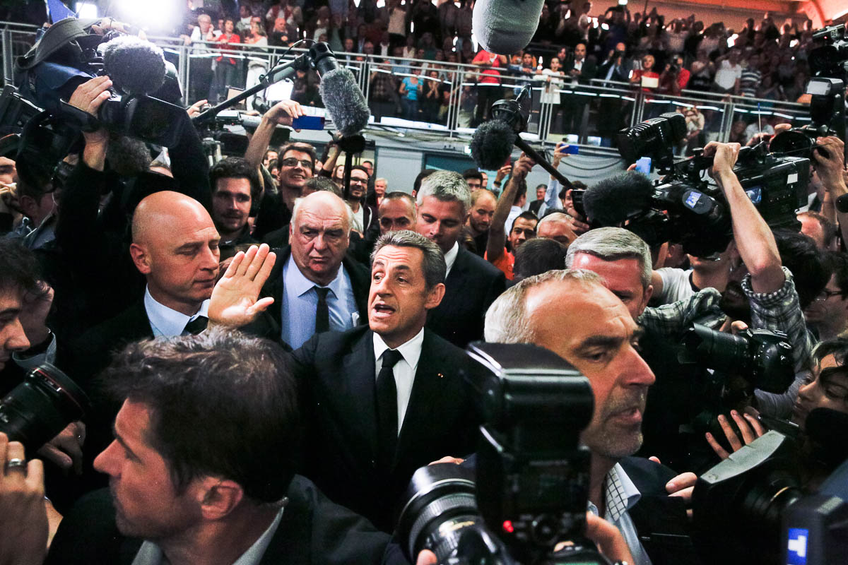 Nicolas Sarkozy, Lambersart, 25/09/2014