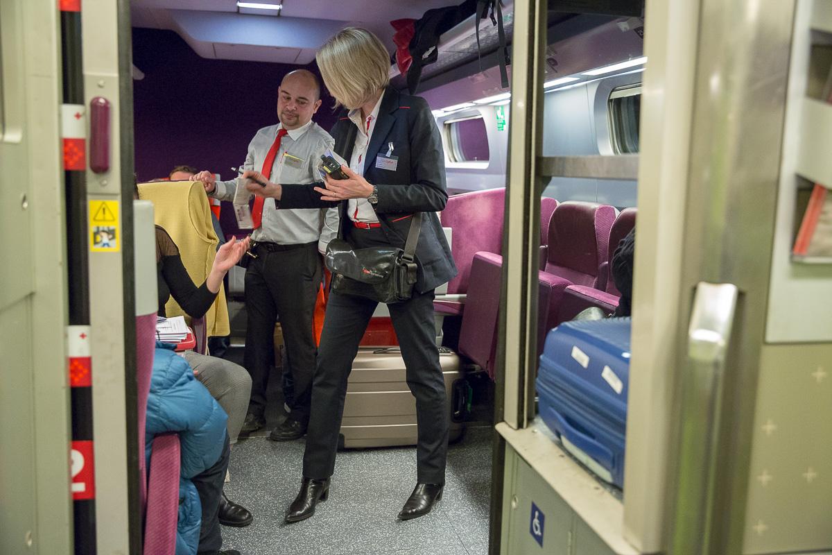 Réforme de la SNCF #2: 24h avec une contrôleuse, 16 & 17/03/2018
