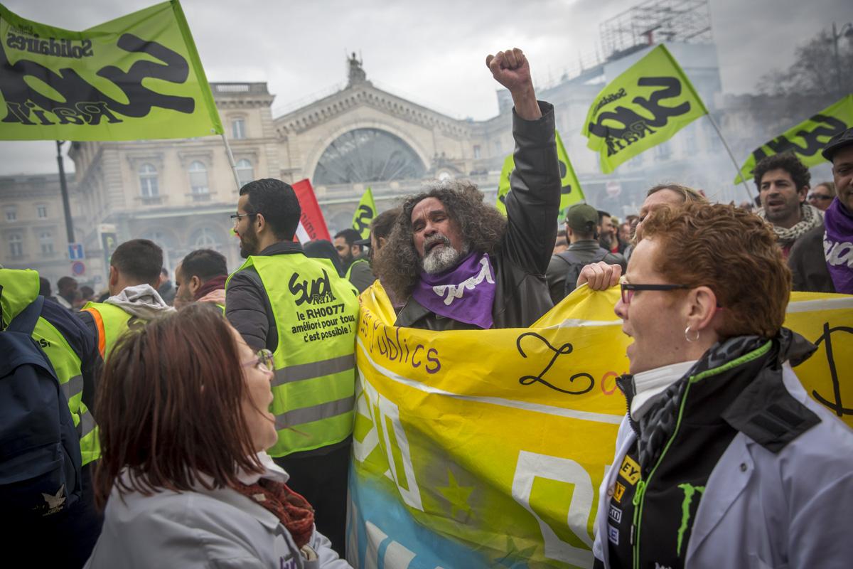 Réforme de la SNCF #4. Premier jour de grève, 3/04/2018