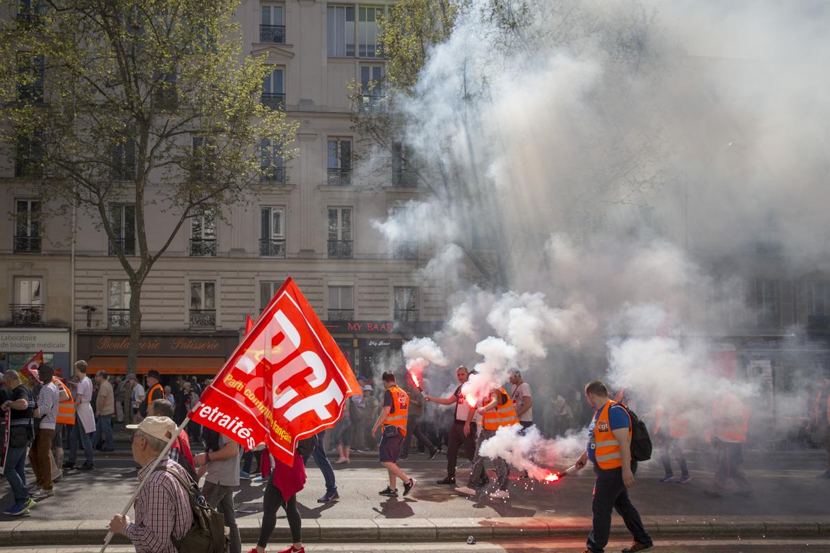 Réforme de la SNCF #5: Convergence des luttes, 19/04/2018