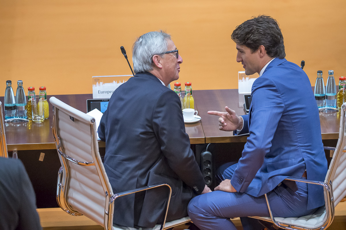 Réunion du G20 à Hambourg, 7 et 8/07/2017