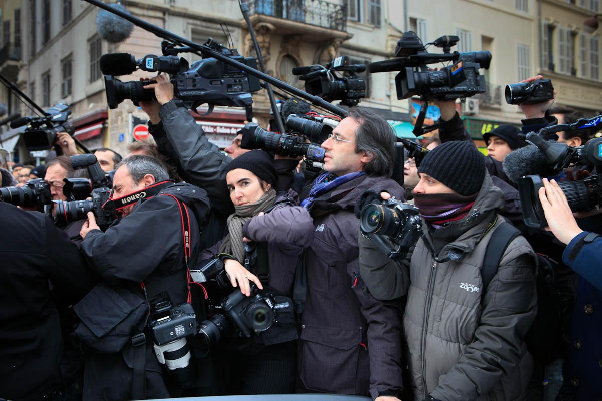Ségolène Royal à Marseille, 7/02/2012