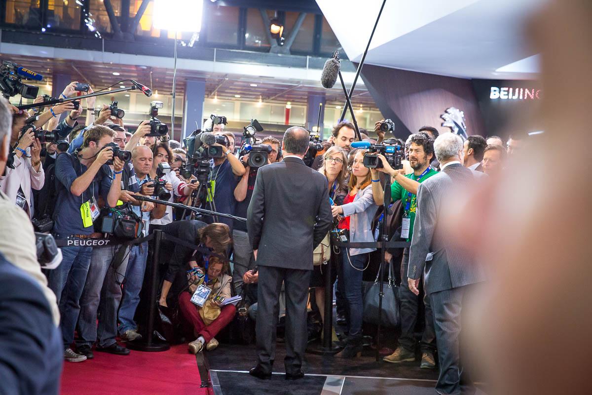 Sept jours à l'Élysée: dernier épisode. Vendredi 3, samedi 4 et dimanche 5/10/2014